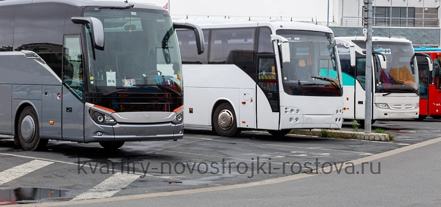 Остановка автобусов