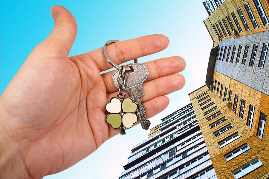 Передача ключей от готовой квартиры