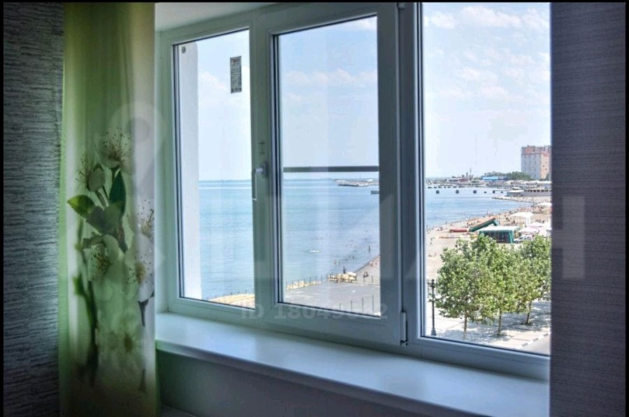 Вид на реку из окна квартиры