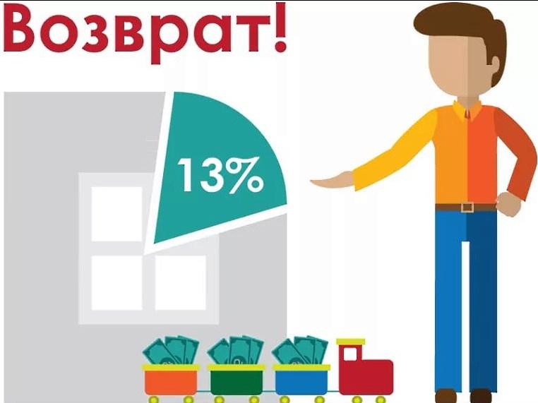 Возврат 13% выплаченных налогов